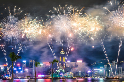 New Years charters for holiday